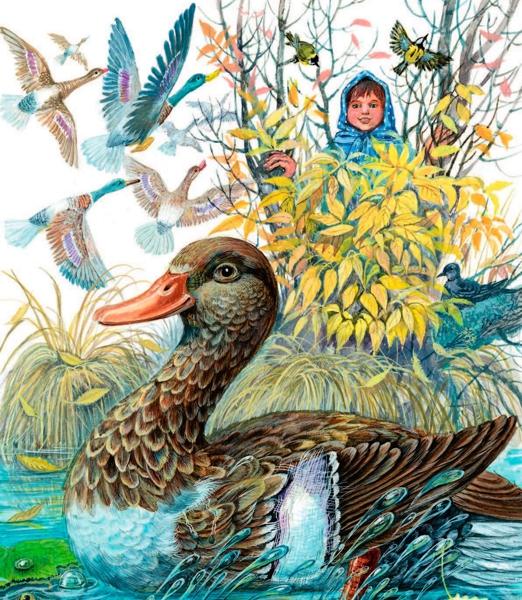 Анюткина утка — Бианки Виталий