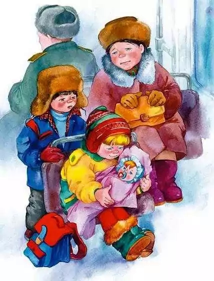 Девочка с куклой — Осеева Валентина