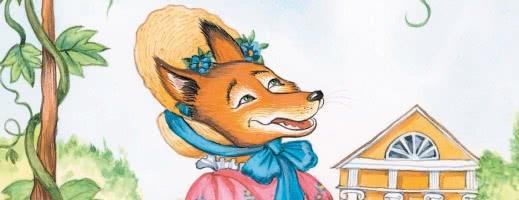 Лисица и виноград - басня Крылова, читать детям онлайн