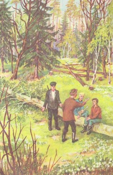 Лесной доктор — Пришвин Михаил