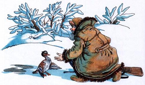 Серая шейка - сказка Мамин-Сибиряк