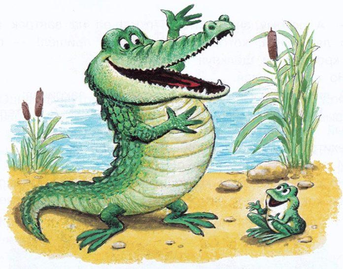 Сказка о крокодиле и лягушонке - Пляцковский