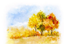 Стихи про осень детям