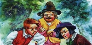 Три брата - Братья Гримм