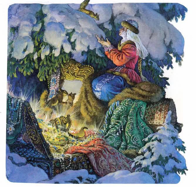 Морозко - русская народная сказка