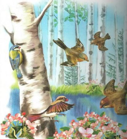 Синичкин календарь Виталий Бианки Апрель