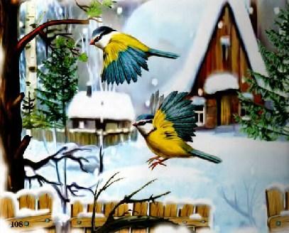 Синичкин календарь Виталий Бианки Ноябрь