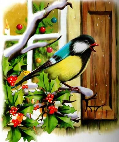Синичкин календарь Виталий Бианки Декабрь
