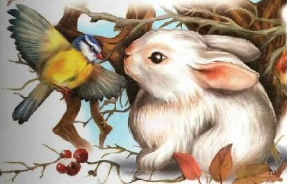 Синичкин календарь Виталий Бианки Февраль