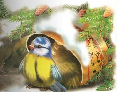 Синичкин календарь Виталий Бианки Март