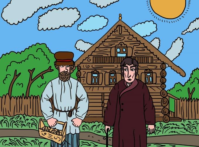 Барин и плотник — русская народная сказка