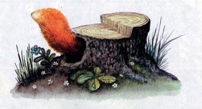 Лисичка со скалочкой Сказка