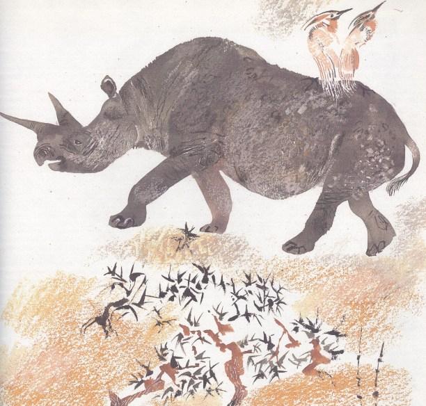 Моя первая зоология — Чарушин - носорог