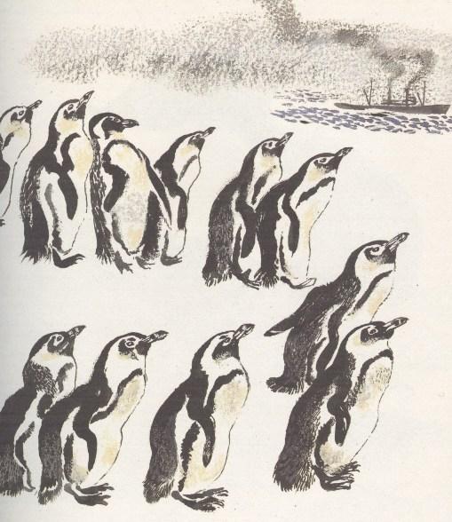 Моя первая зоология — Чарушин - пингвины