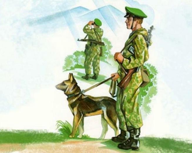 Военная собака — Чарушин
