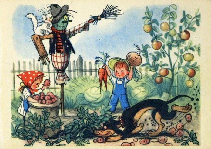 Бабушкин огород - Сутеев Владимир