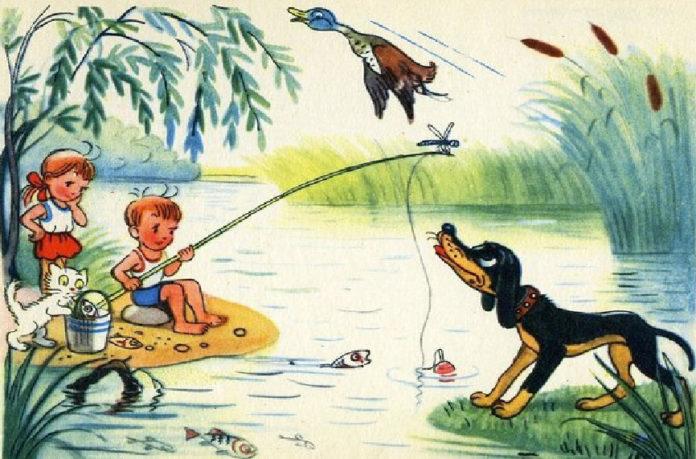 Как я ловил рыбу - Сутеев Владимир