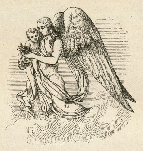 Ангел — Ганс Христиан Андерсен