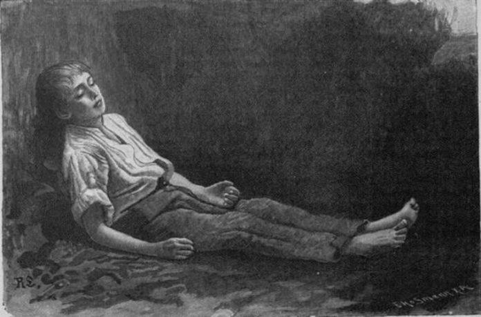 Бедный пастух в могиле — Братья Гримм