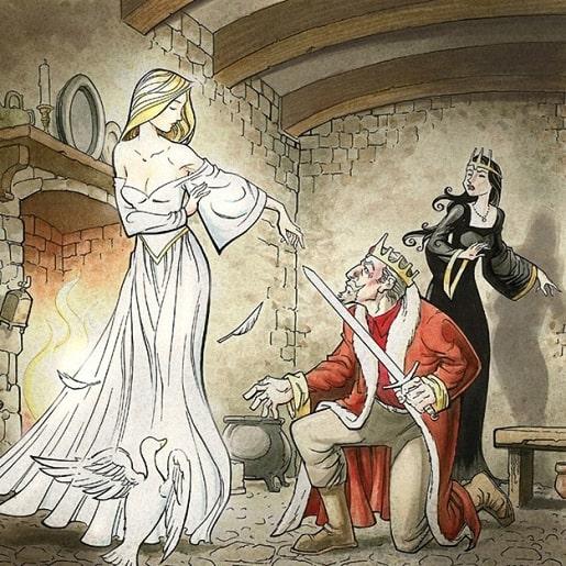 Белая и черная невеста — Братья Гримм