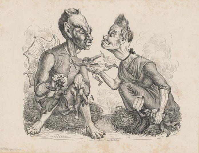 Черт и его бабушка — Братья Гримм