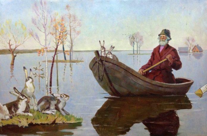Дедушка Мазай и зайцы — Некрасов Николай Алексеевич