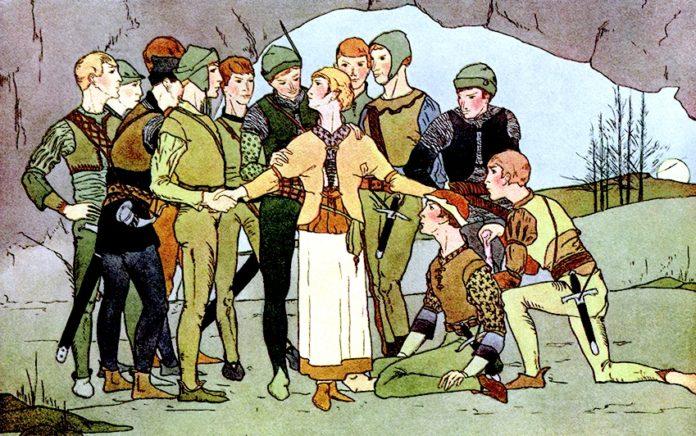 Двенадцать охотников — Братья Гримм