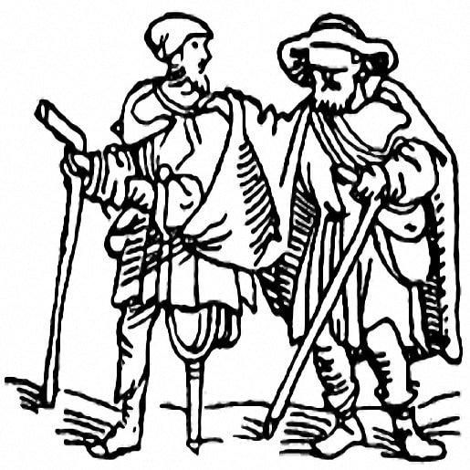 Кнойст и трое его сыновей — Братья Гримм