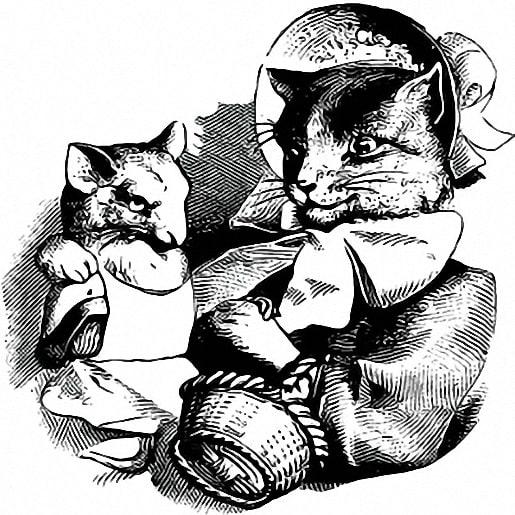 Кошка и мышка вдвоем — Братья Гримм