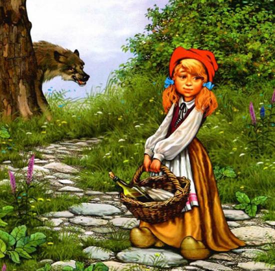 Красная шапочка — Братья Гримм