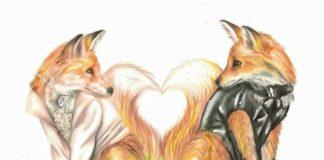 Лис и госпожа кума — Братья Гримм