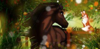 Лиса и лошадь — Братья Гримм