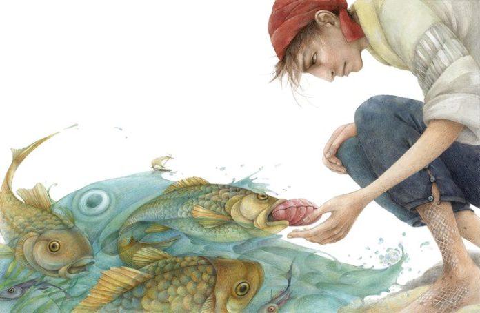 Морская рыбка — Братья Гримм