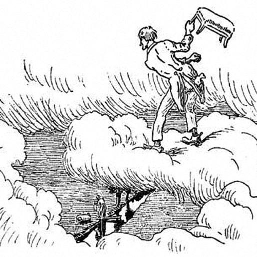 сказка Мужичок на небе — Братья Гримм