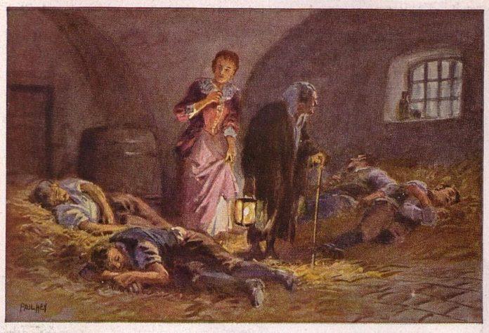 Разбойник-жених — Братья Гримм
