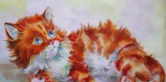 Рыжий кот — Осеева Валентина
