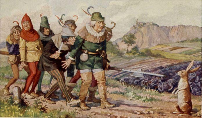 Семеро храбрецов — Братья Гримм