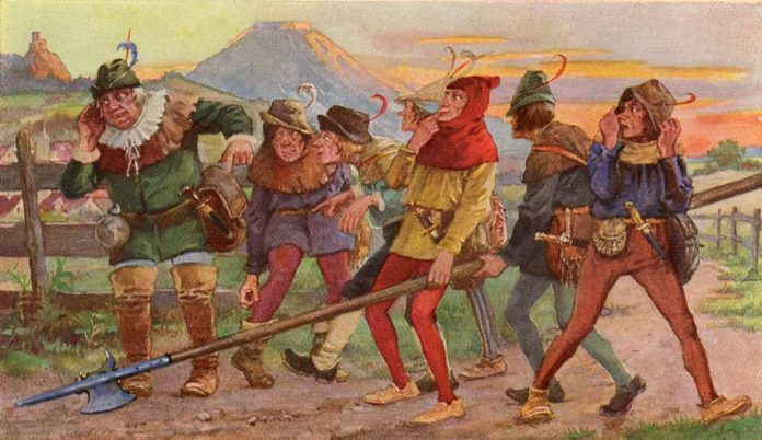 Семеро швабов — Братья Гримм
