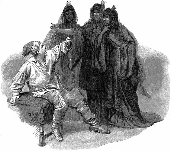 Смерть в кумовьях - Братья Гримм