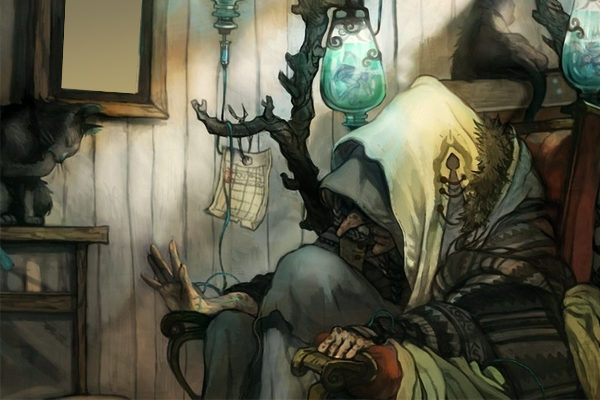 Старая нищенка — Братья Гримм