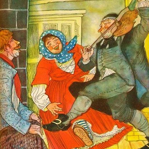 Старый Гильдебранд — Братья Гримм