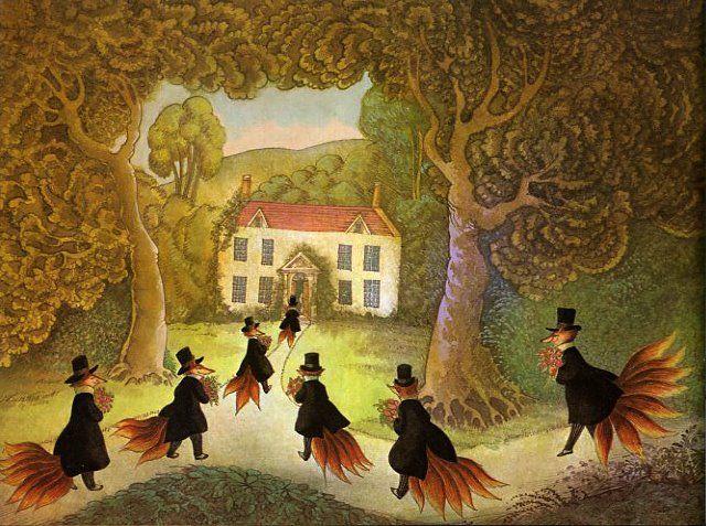Свадьба госпожи лисицы — Братья Гримм
