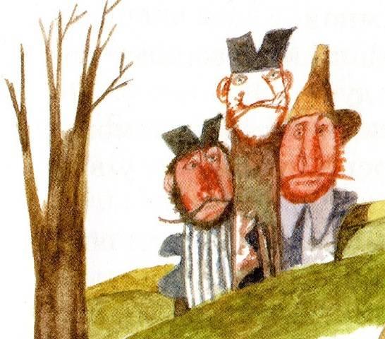 Три лентяя — Братья Гримм