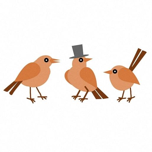 Три птички — Братья Гримм