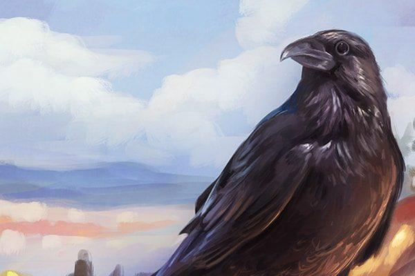 Ворона — Братья Гримм