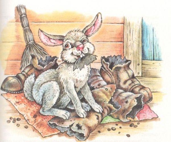 Как заяц сапоги съел — Пришвин Михаил