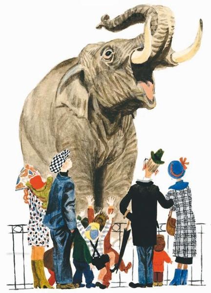 Слон и радио — Драгунский Виктор