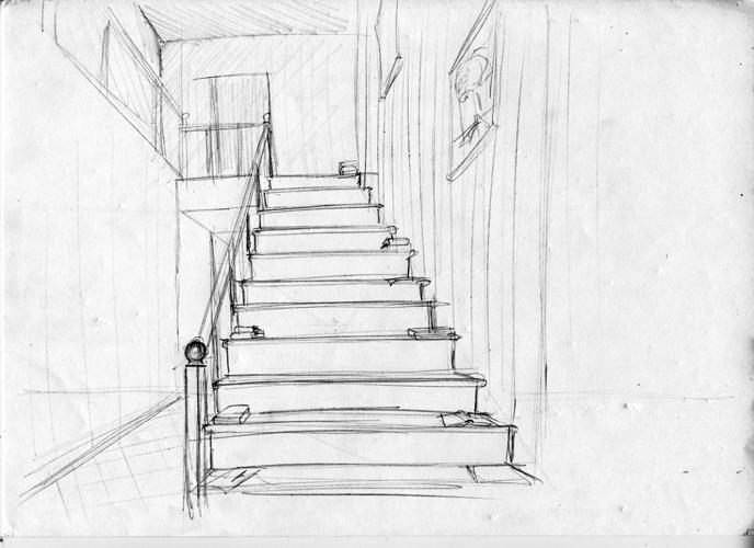 Вверх по лестнице — Чехов Антон Павлович