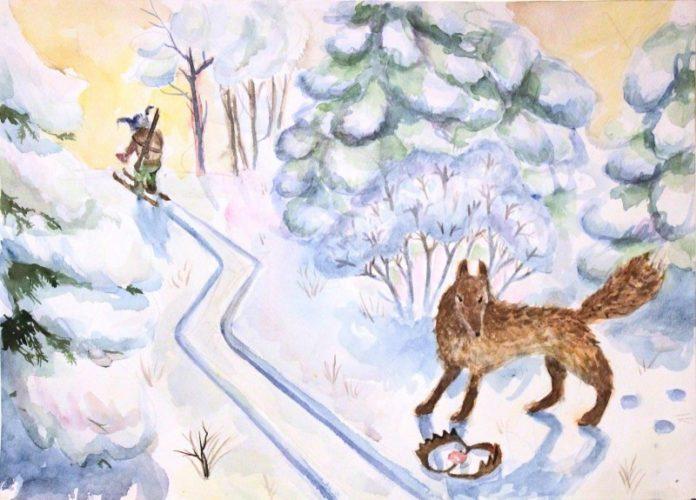Черная лисица — Бианки Виталий