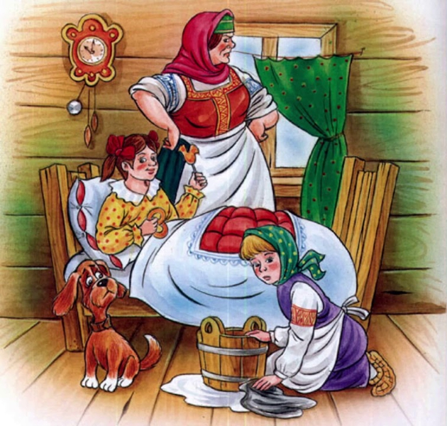 Дочь и падчерица — Афанасьев Александр